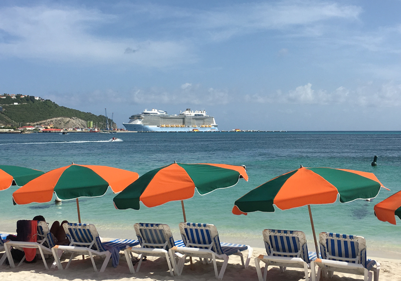 St. Maarten Philipsburg Beach