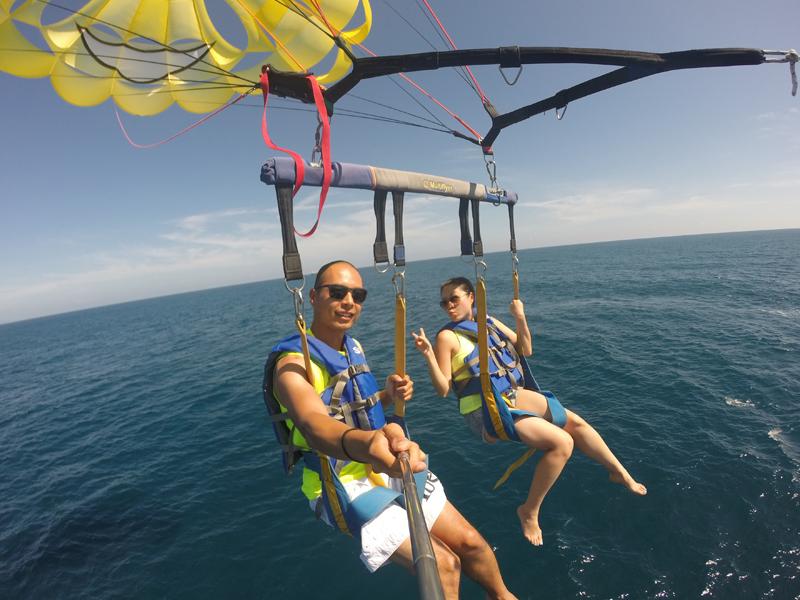 Labadee Cruise Port Parasailing GoPro