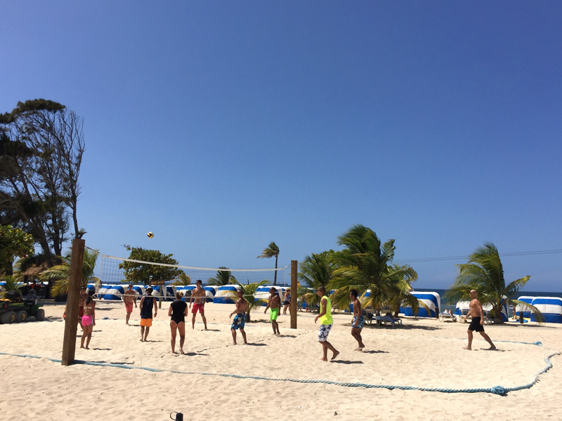 Labadee Cruise Port Volleyball