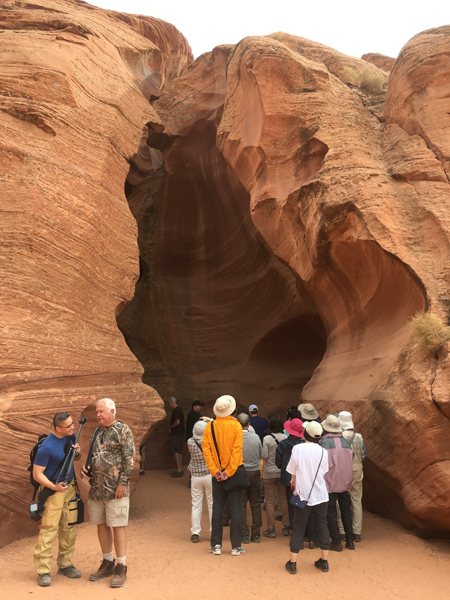 What It's Really Like to Visit Antelope Canyon Entrance