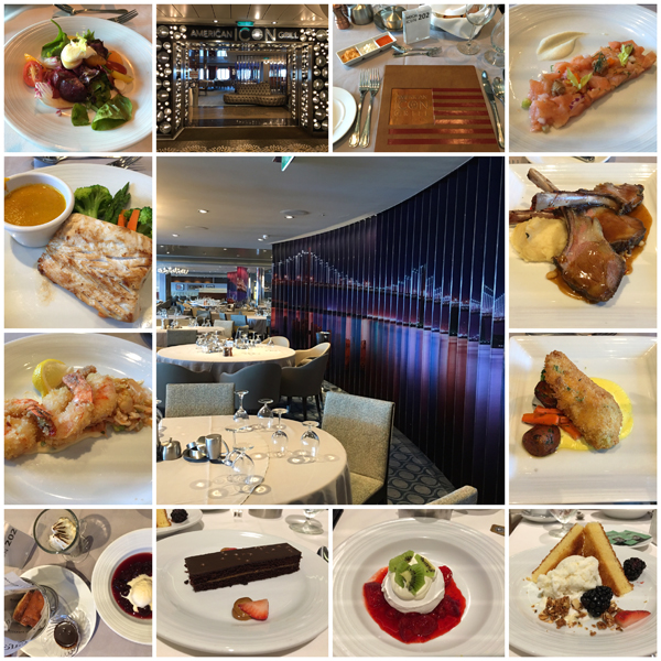 Anthem of the Seas Dining Experience American Icon