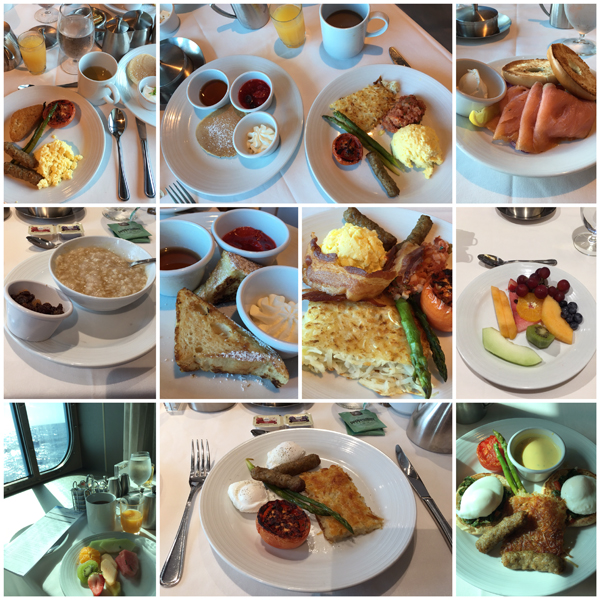 Anthem of the Seas Dining Experience Breakfast
