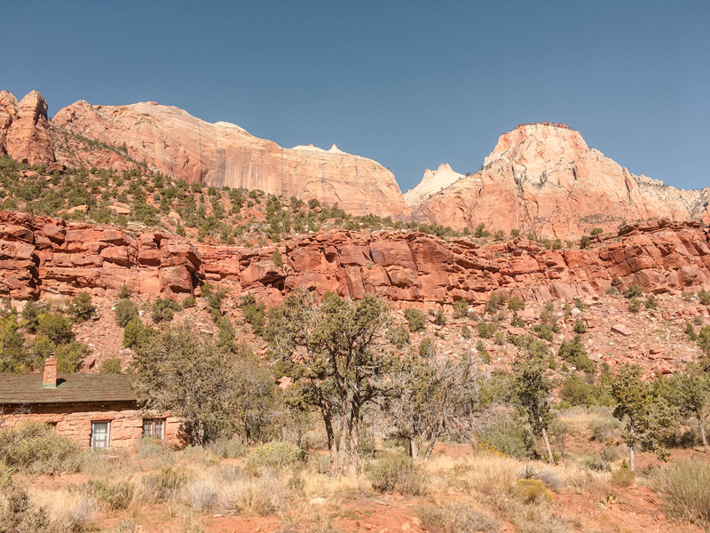 Introduction to Zion National Park Scenery