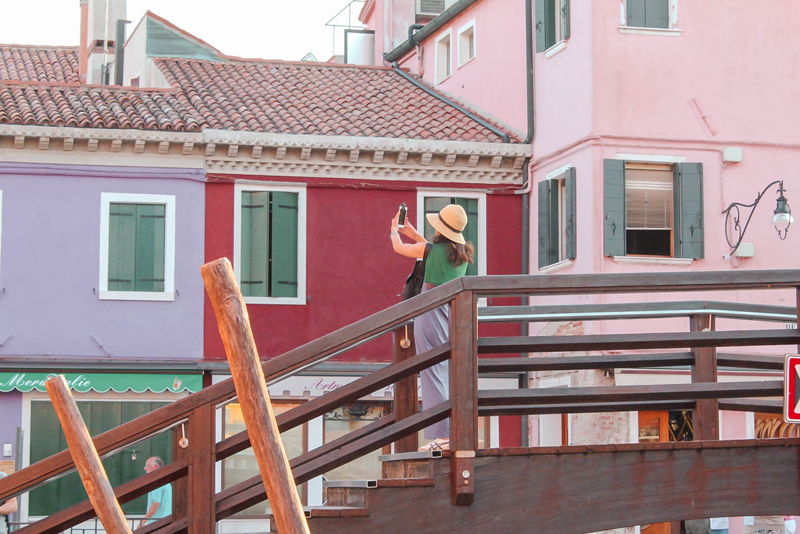 Visiting Burano Bridges