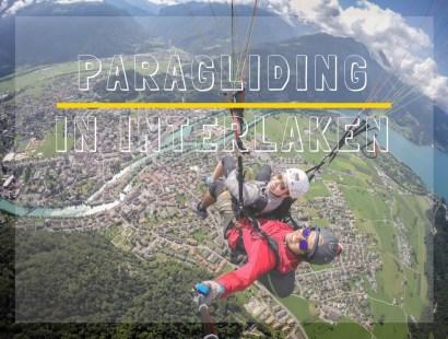 First Paragliding Experience in Interlaken