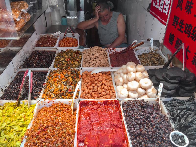 Qibao Water Town snacks