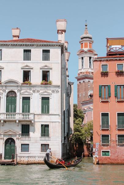 Exploring Venice Photo Diary Canal