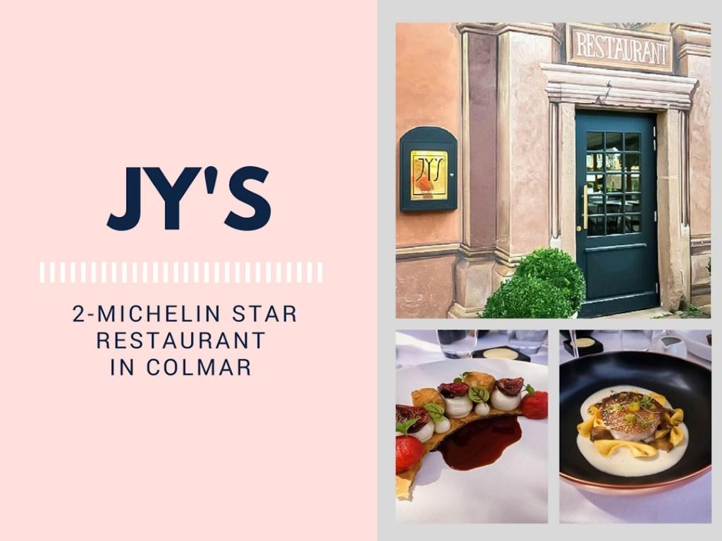 Jys 2 Michelin Star Restaurant In Colmar