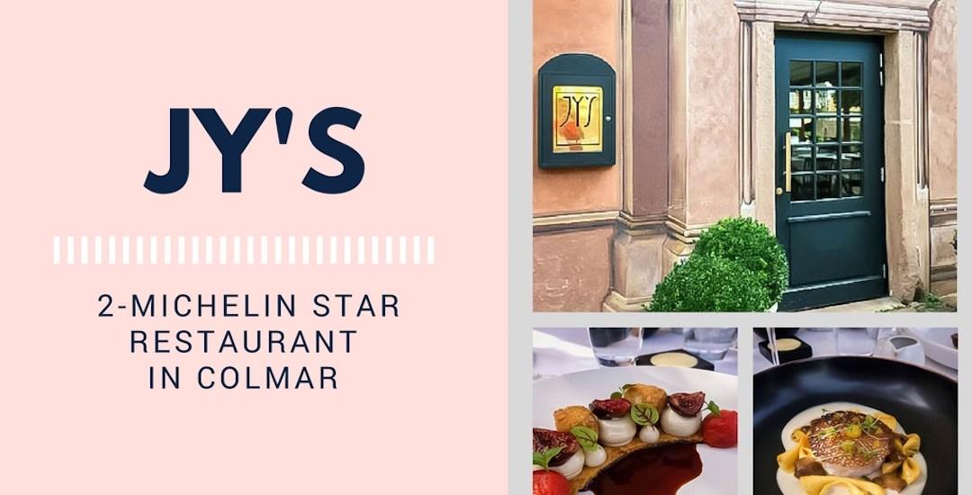 JY'S: 2-Michelin Star Restaurant in Colmar