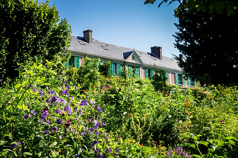 Monet's Gardens in Giverny House