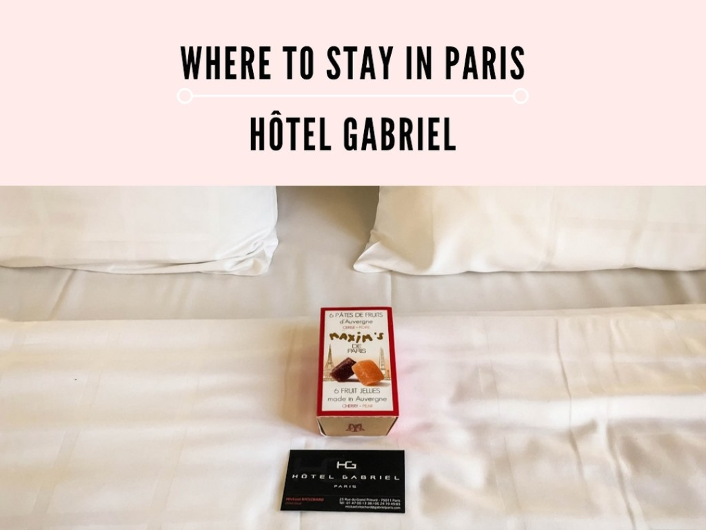 Where to Stay Hôtel Gabriel Paris