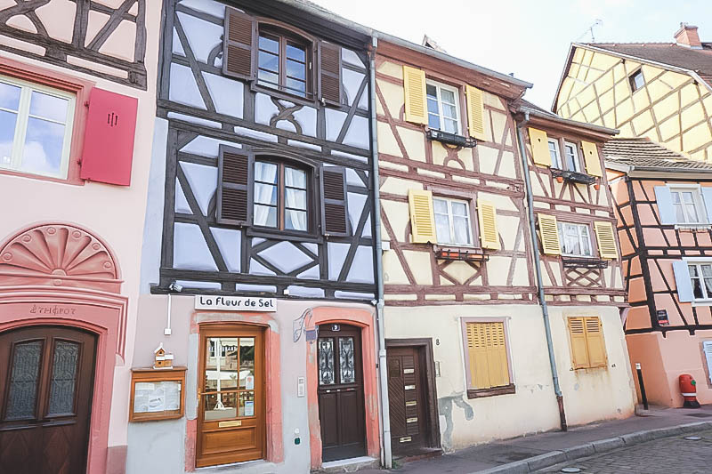 Vibrant Palette of Alsace_Half Timbered Houses