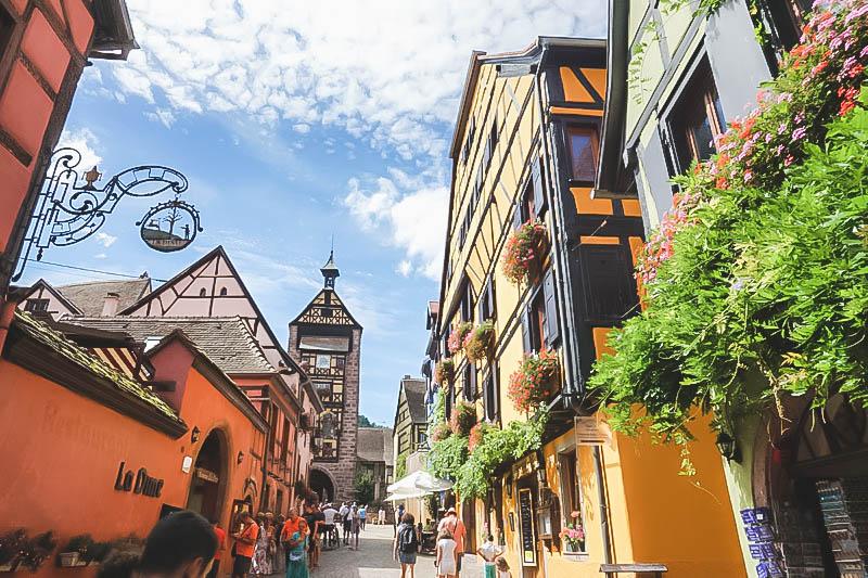 Vibrant Palette of Alsace_Riquewihr France