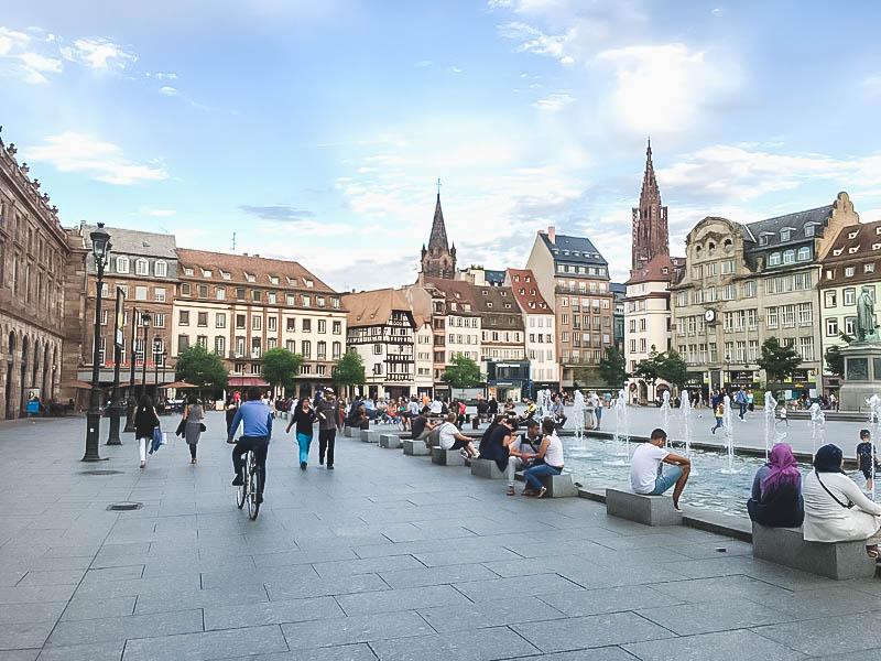 Vibrant Palette of Alsace_Strasbourg Place Kleber