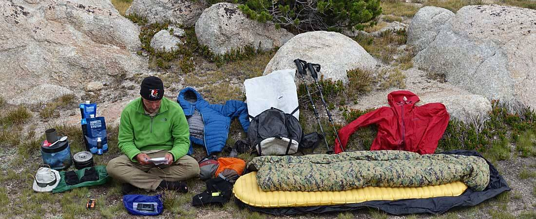 85a887e20e2 9 Pound Full Comfort Lightweight Backpacking Gear List - Adventure Alan