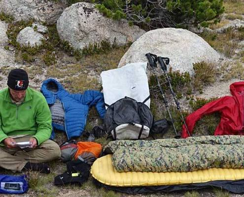 lightweight backpacking gear - hiking gear