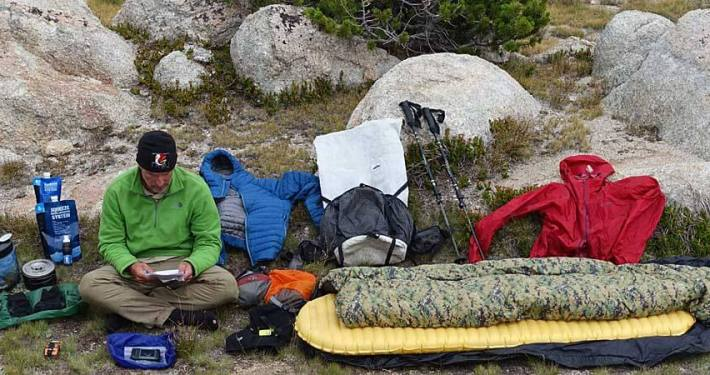 lightweight backpacking gear - hiking gear