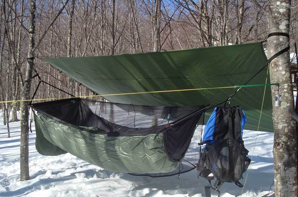 hammock camping in cold weather is an advanced skill perhaps even more so than ground camping in the same weather  for beginner hammock campers     hammock camping part iii  helpful tips and resources for a virgin      rh   adventurealan