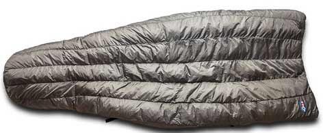 lightweight backpacking quilt - warbonnet mamba