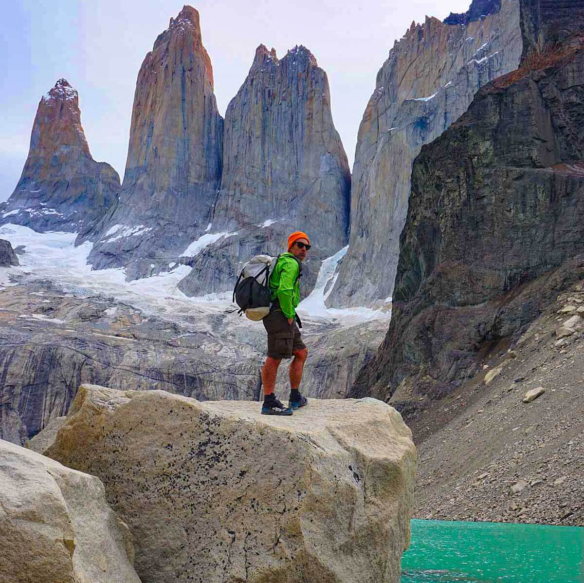 Circuito W Torres Del Paine Camping : Camping in torres del paine national park