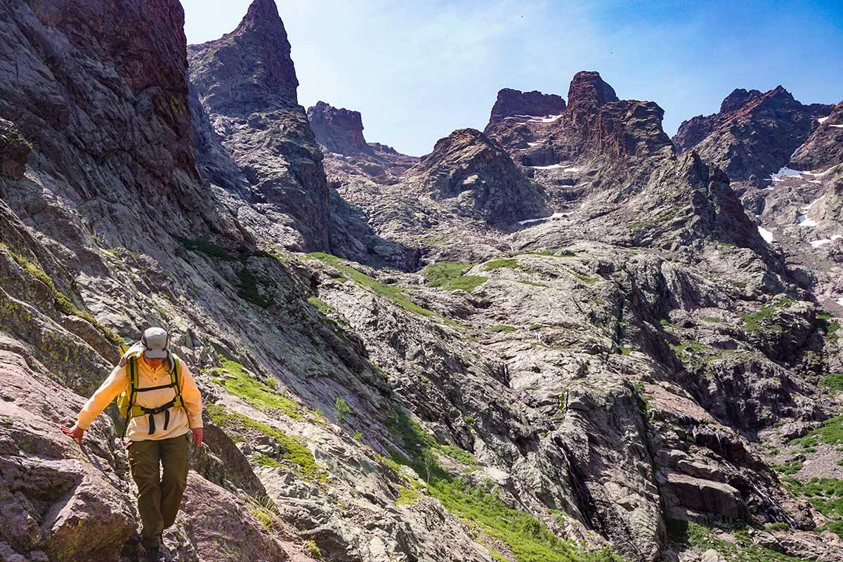 Quick and Efficient Training for Backpacking
