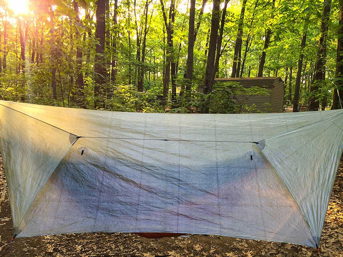 view larger image method to manage hammock tarp doors great method to manage hammock tarp doors   adventure alan  rh   adventurealan