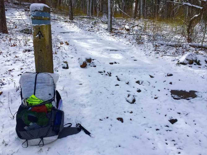 10 Pound Backpack to Hike 100 Miles