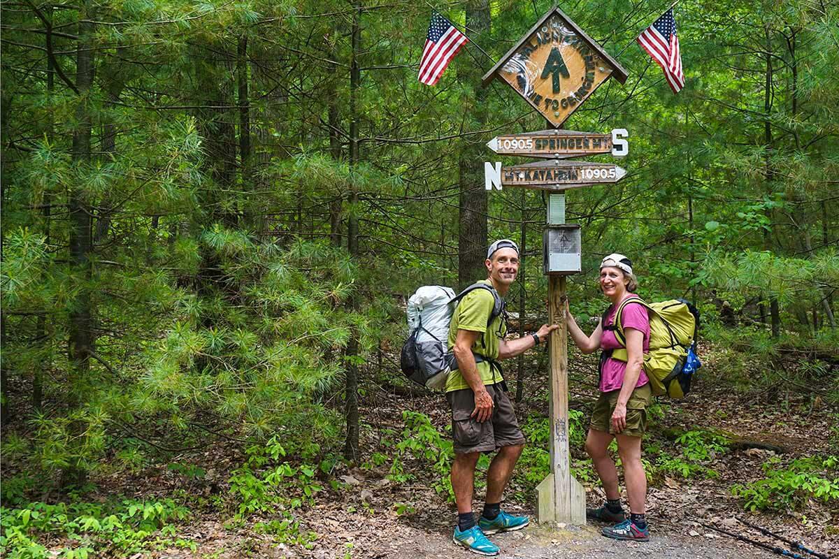 Low Carbon Appalachian Trail Section Hike via Train ...