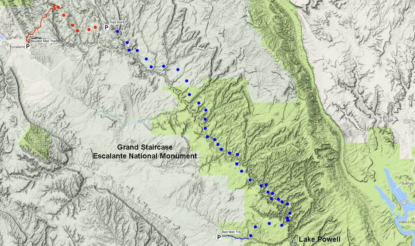 A Very Different High Route Escalante Overland Route Adventure Alan