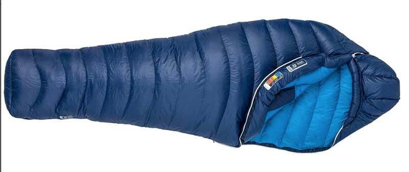 down backpacking sleeping bag - marmot phase 20