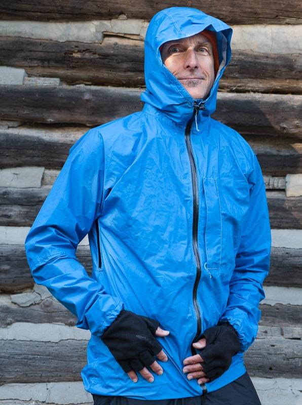 Zpacks Vertice lightweight rain jacket