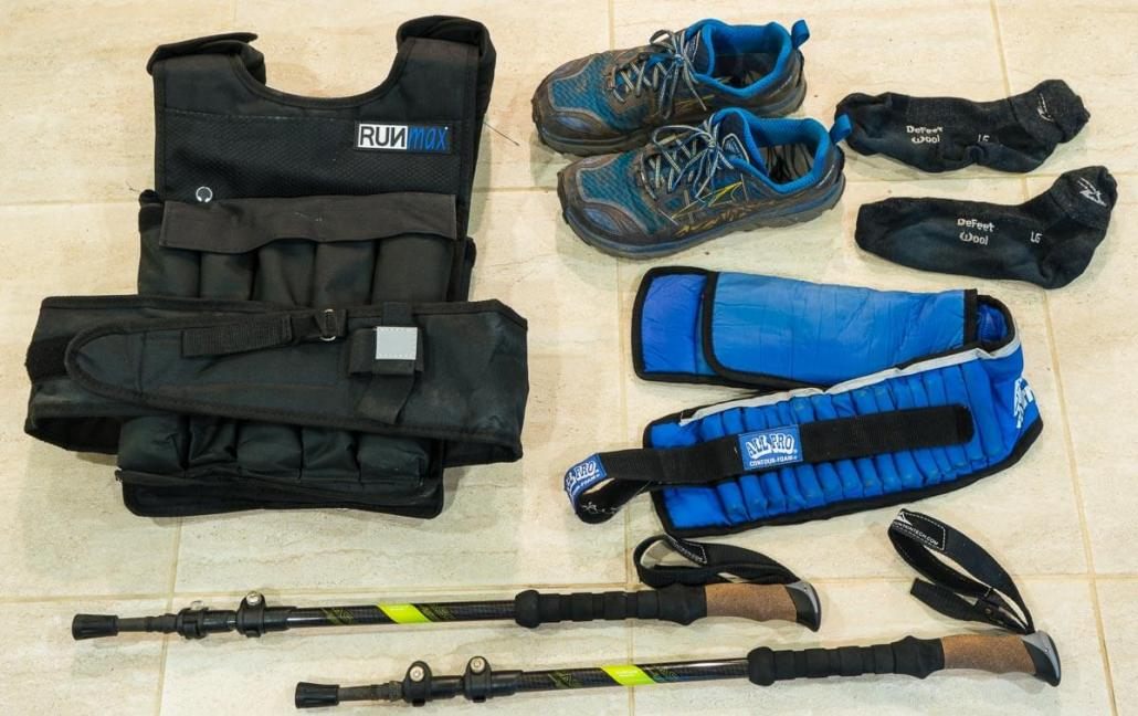 tools, how to train for hiking and backpacking