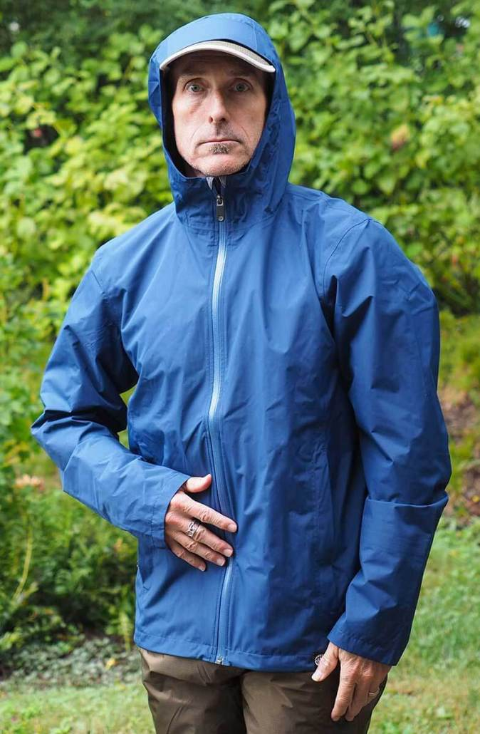 Lightweight Rain Jacket for Hiking and Backpacking