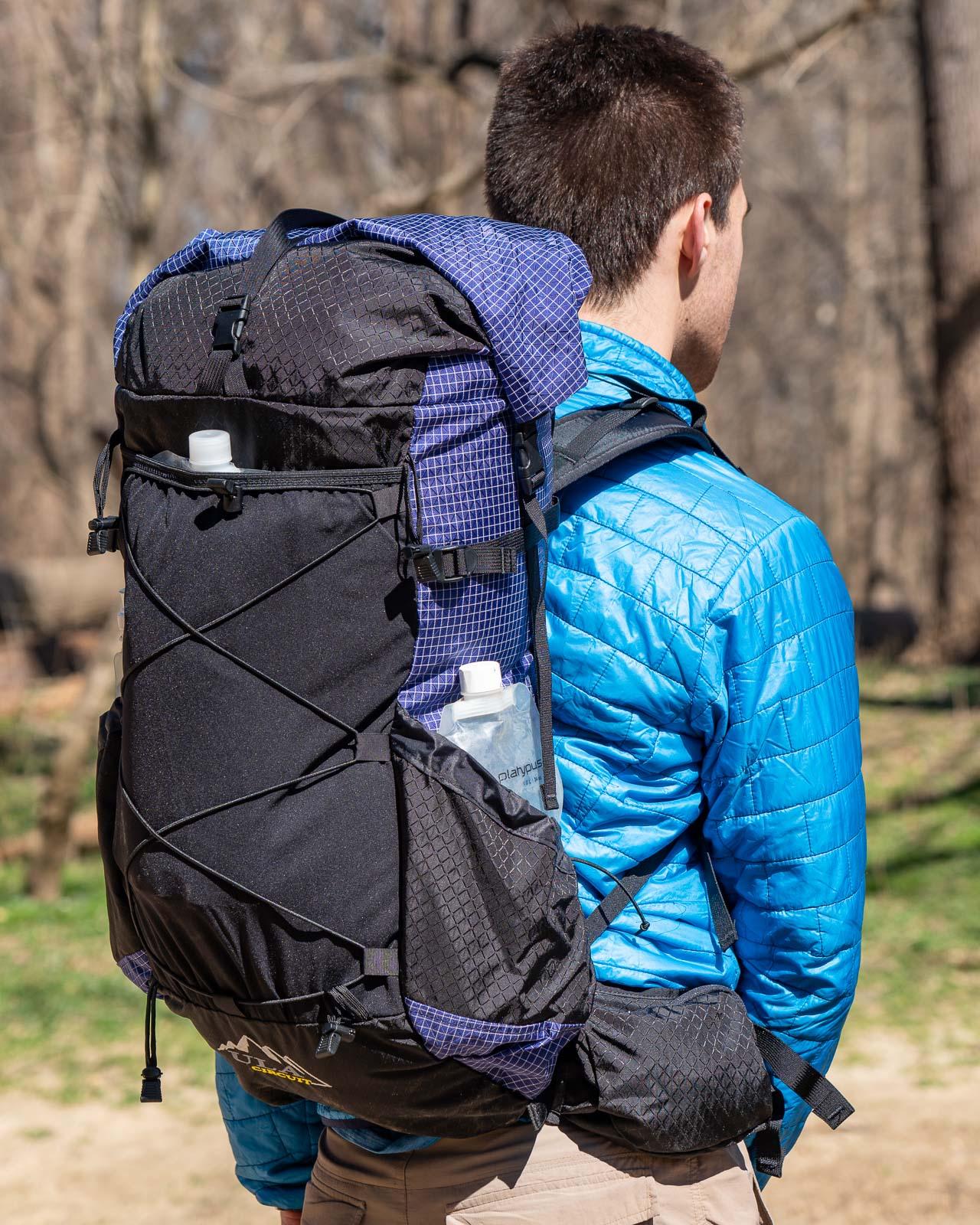 60-Day SOS SV Food Fit Internal Frame Travel Hiking Trekking Camping