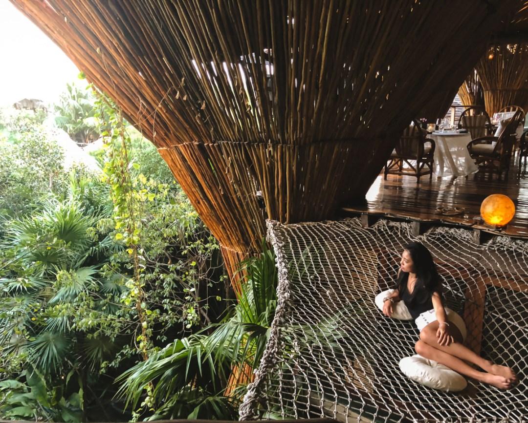 Hotel Azulik tiene preparadas villas ecológicas.