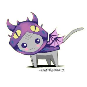 adventure dragon transparent name temp