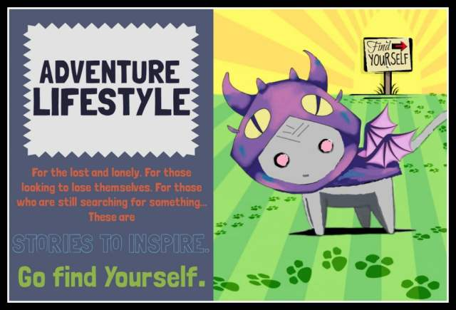 Border Adventure Lifestyle Graphic sign