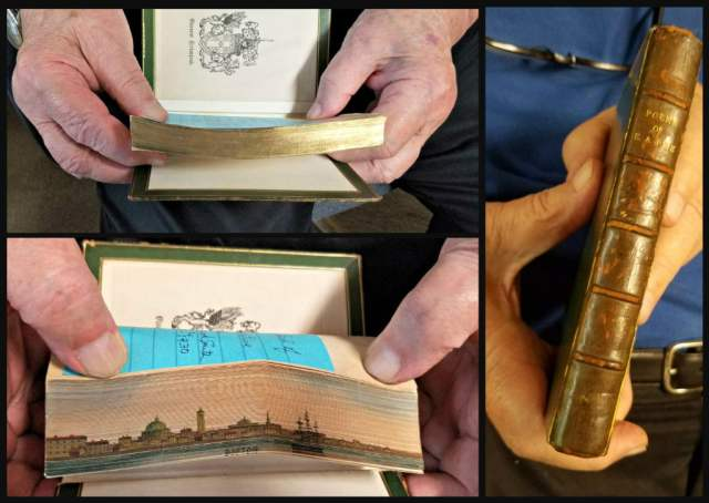 Good Old Books Fore Edge Painting