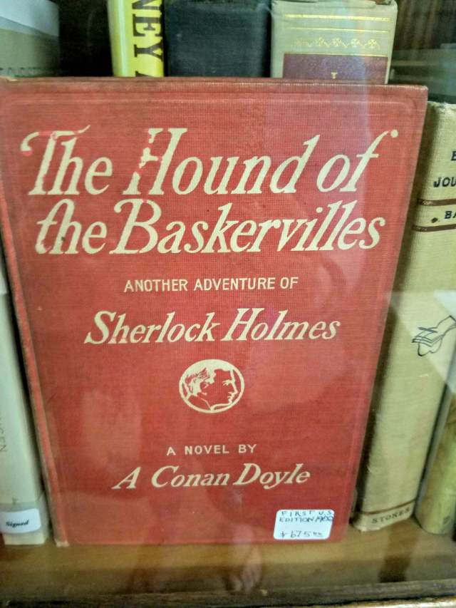 good old books most expensive 1902 sherlock holmes $675