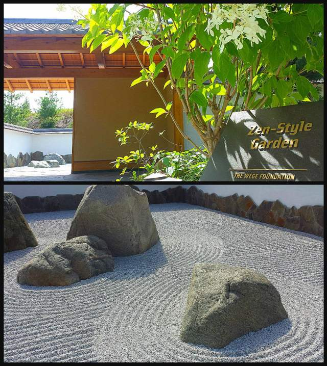 Richard & Helen DeVos JapaneseGarden Zen Rock Garden Frederik Meijer Gardens and Sculpture Park Adventure Dragon