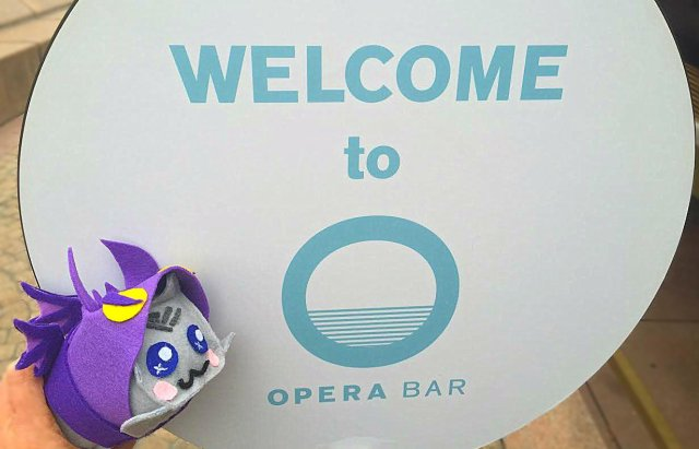 Opera Bar -- Sydney Secrets - The Sydney Opera House is not White