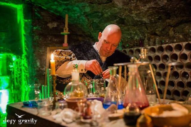 Alchemy Class College of Wizardry Review Real Life Hogwarts Czocha Castle Poland Harry Potter LARP