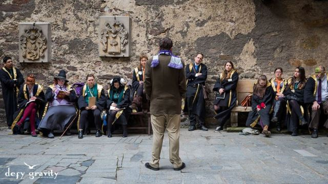 Ritual Magic Class College of Wizardry Review Real Life Hogwarts Czocha Castle Poland Harry Potter LARP