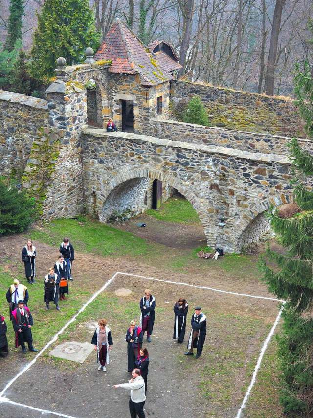 Fireball Tournament College of Wizardry Review Real Life Hogwarts Czocha Castle Poland Harry Potter LARP