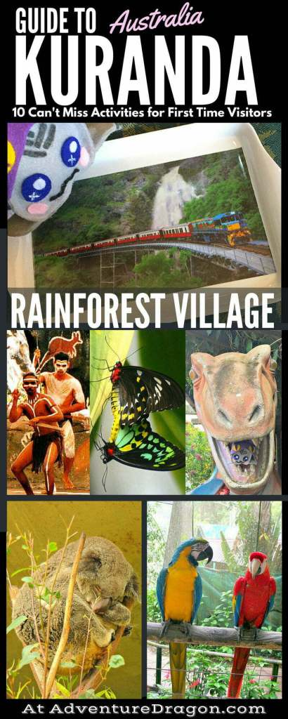 Kuranda Village in the Rainforest Australia Pin