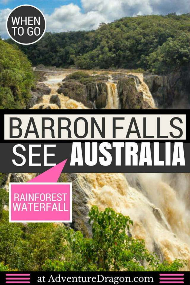 Barron Falls Australia Pinterest