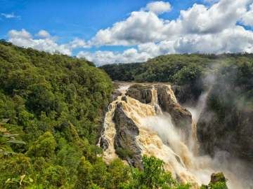 Barron Falls at Kuranda in Queensland, Australia