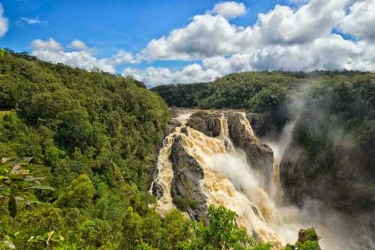 Barron Falls at Kuranda in Queensland, Australia