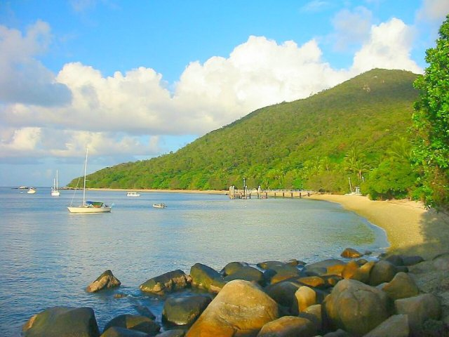 best beaches in Cairns Great Barrier Reef from Fitzroy Island