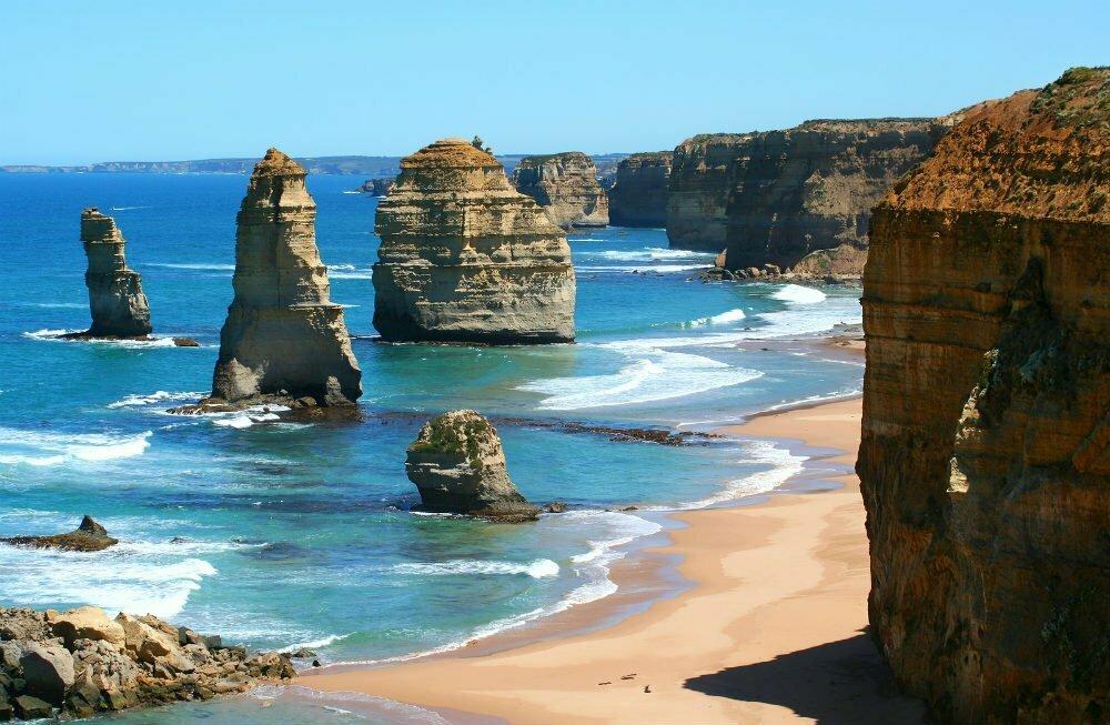 12 Twelve Apostles on Great Ocean Road, Австралия лучшие места для посещения